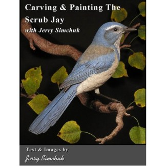 Carving & Painting the Scrub Jay