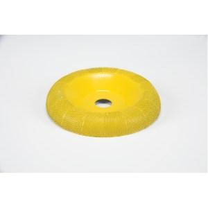 "Saburr-Tooth 4"" Donut Wheel 5/8"" bore Round Face Fine"
