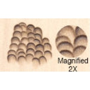 Feather Formers Tip Chisel - Fine (F) ~85LPI 7mm 56.04F