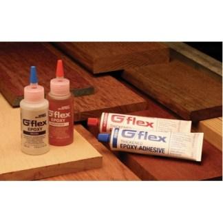 G/flex thickened epoxy #655-K - two 4.5 oz. aluminum tubes