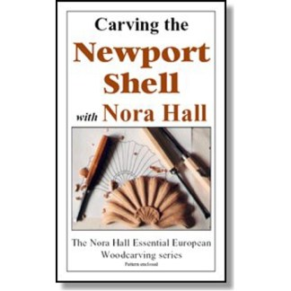 DVD - Nora Hall  Carving the Newport Shell