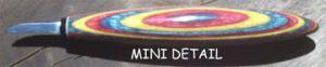 "Helvie Knife, Mini Oval 3/16"" x 1"""