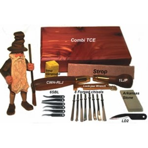 Warren Combi-TCE - Combi-TCE Deluxe Carving Kit