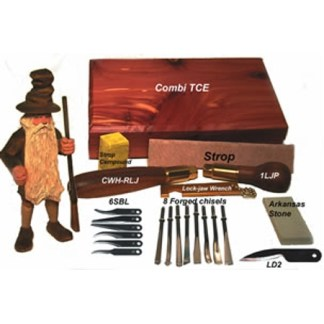 Warren Combi-TCE - Combi-TCE Deluxe Carving Kit