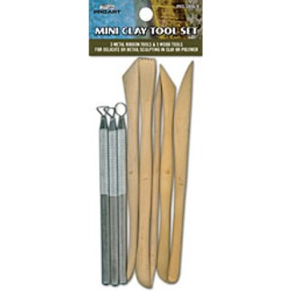 PRO ART 8pc Mini Clay Tool Set