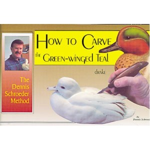 How to Carve The Green-Winged Teal Drake