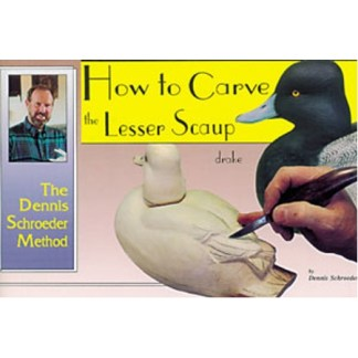 How to Carve The Lesser Scaup Drake