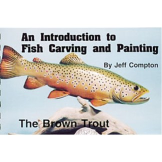 BROWN TROUT, Carving & Painting
