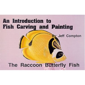 RACCOON BUTTERFLY, Carving & Painting