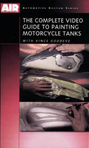 DVD -  Vince Goodeve Complete Guide to Painting Motorcycle Tanks
