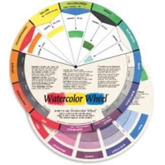 """The Watercolor Wheel™   9-1/4"""" Diameter"""