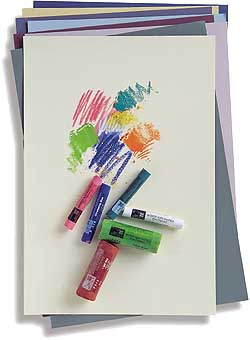 Art Spectrum Colourfix Coated Pastel Paper  Rose Pinkr