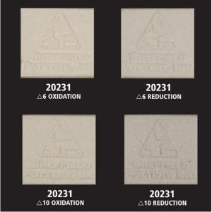 20231 Moist White Stoneware - Extra shipping charges apply