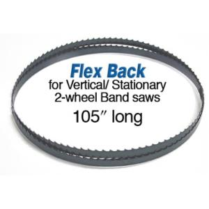 """Olson 105"""" Bandsaw Blade, 1/4"""" W, 4 TPI, Hook Tooth"""