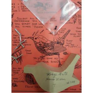 Bird Carving Kit Wren: House: Basswood