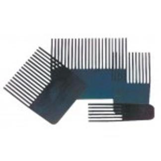 Graining Tools, Texturing Combs