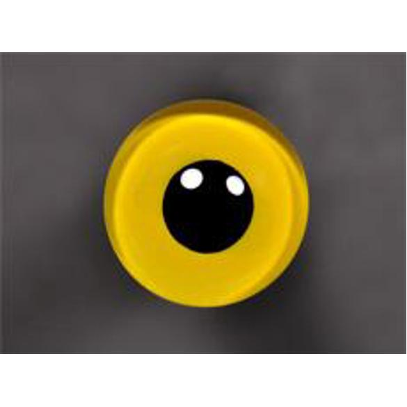 Tohickon Glass Eyes Off-Wire #112 - 04mm YELLOW M/P