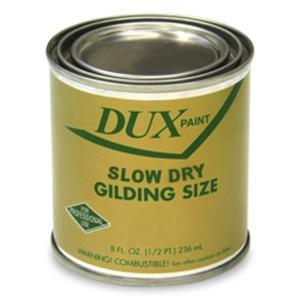 GOLD SIZE DUX SLOW DRY GILDING SIZE  1/2pt / 08oz