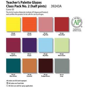 Teacher's Palette Class Pack #2, Pint liquid, AP - 12 colors