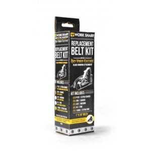 "WORK SHOP Assorted Belt Kit, Blade Grinding Attachment -1"" x 18"""