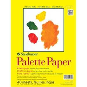 "9"" X 12"" Strathmore Paper Palette"