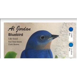 BLue Bird Color Card Al Jordan