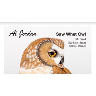 Saw Whet Owl Color Card Al Jordan