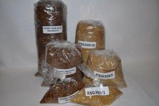 Dry Granules for Guilding
