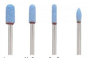 """1/8"""" CeramCut Blue TEXTURING STONES"""