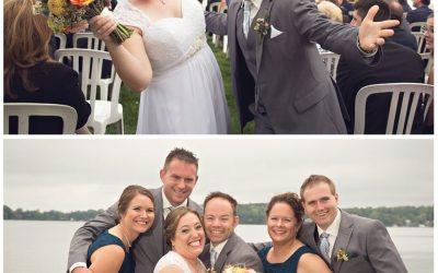 Laurie and Dave {Bay Pointe Inn Gun Lake Wedding Photographer}