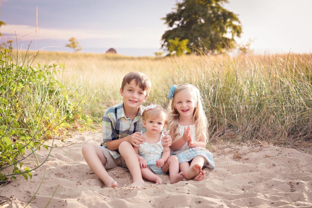 South Haven children family photography session