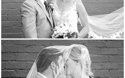 Beautiful Wedding in Downtown Kalamazoo at LOFT 310)
