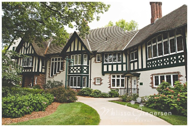 Kellogg Manor House exudes it's European look!
