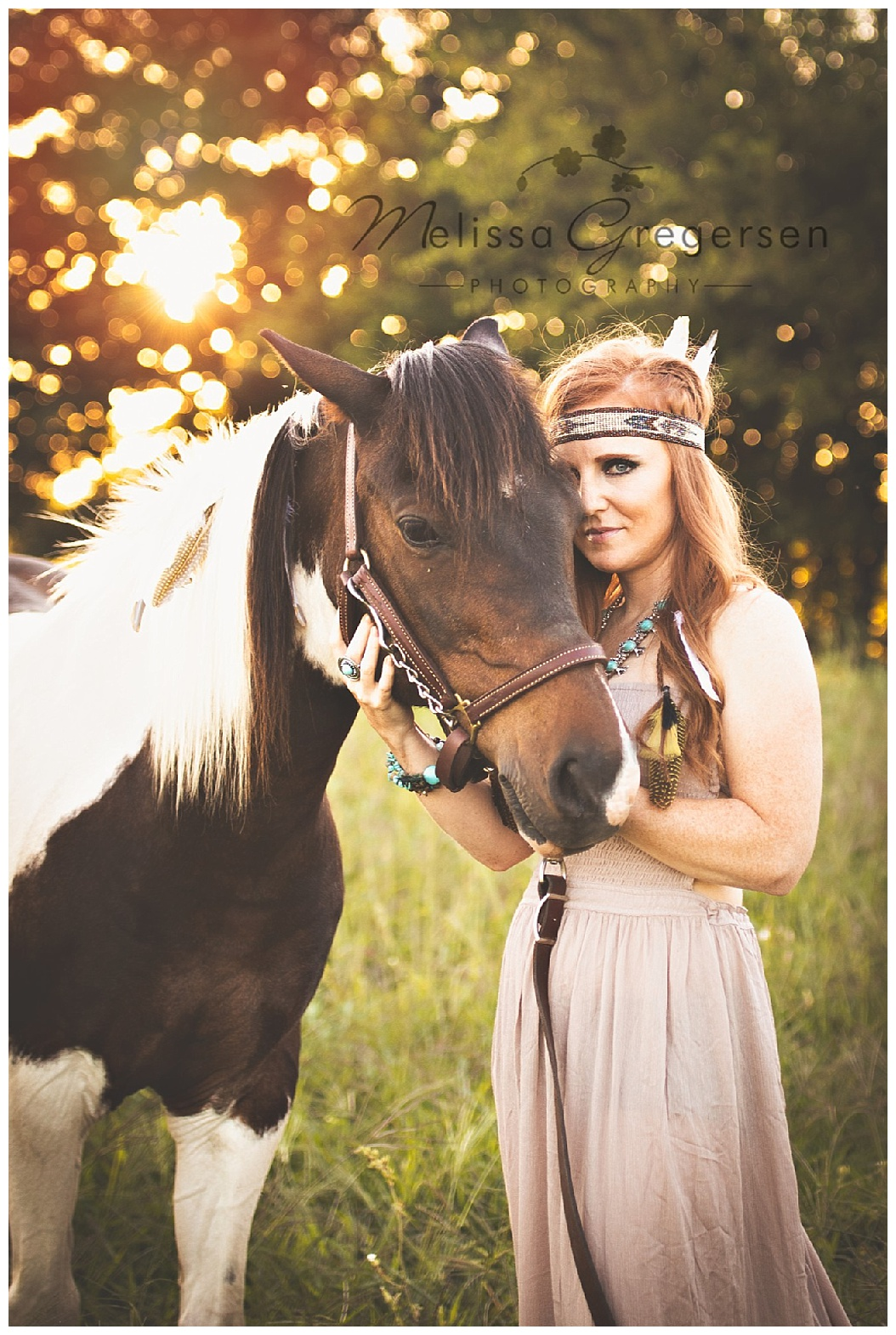 Native American inspired horse photography