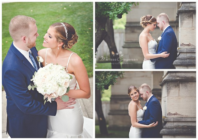 Love exudes in these intimate shots of the bride and groom