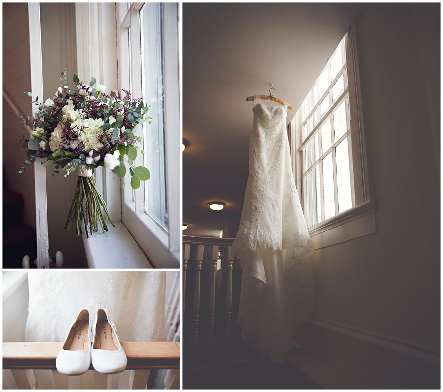 Hana and Trevor are married! {Old Mill Brew Pub}
