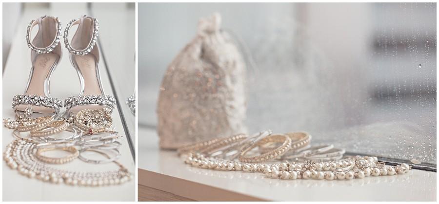 Bridal shoes and jewelry Pakistani Wedding in Kalamazoo Michigan Gregersen Photography