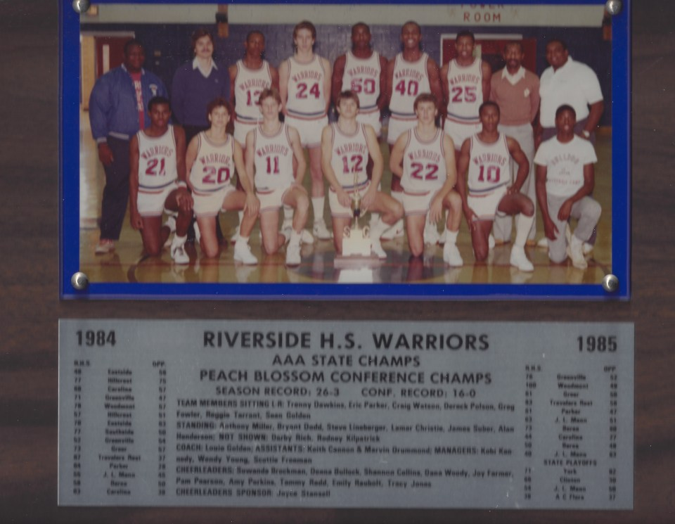 1985 Riverside Warriors