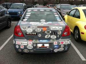 Drew Walker's Car Circa 2012