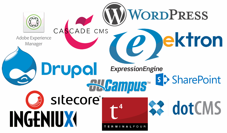 Image of CMS logos