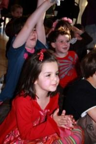 Kids enjoying the magic