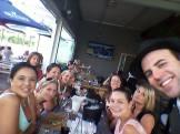 Friendship was celebrated as the girls bid farewell to their dear friend.