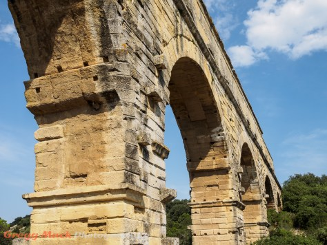 Pont du Gard aquaduct built by The Romans