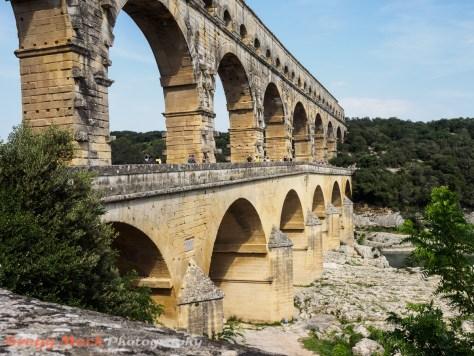 Pont du Gard aquaduct built by The Romans