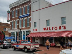 Sam Walton's first store is now a museum to his entrepreneurial genius in a small town that is cuter than any of the ones destroyed by big-box stores.