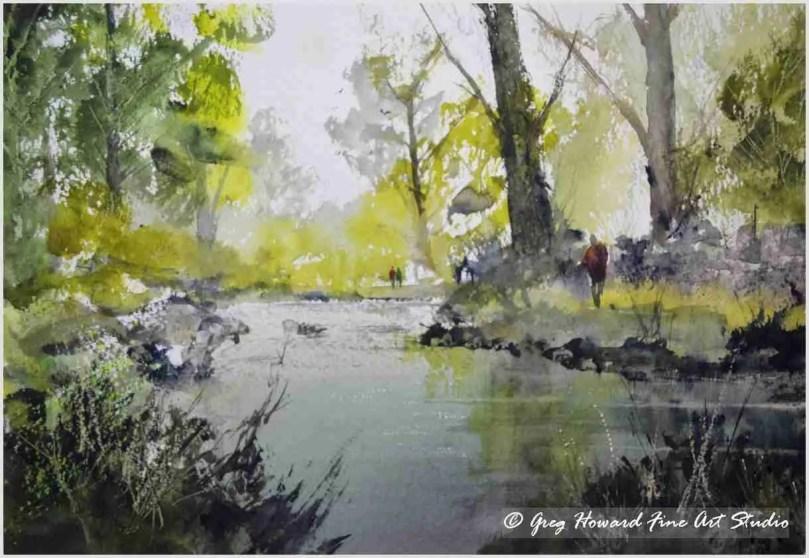A Walk Along The River