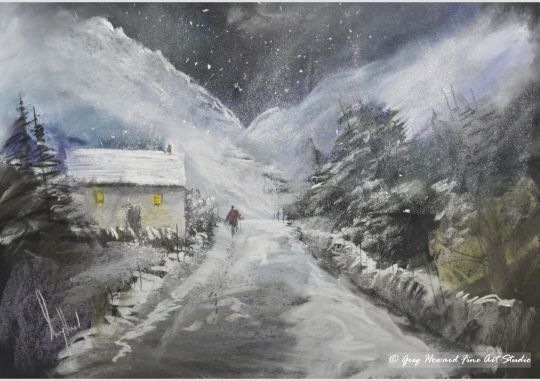 A Wintry Day