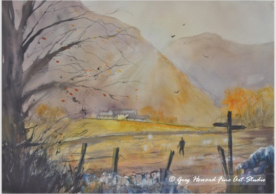 Autumn Morning In Langdale IV
