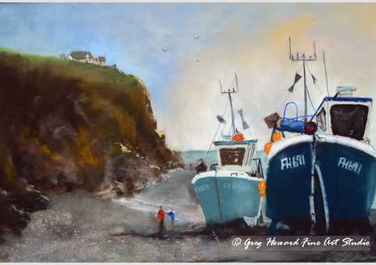 Cadgewith Harbour Cornwall