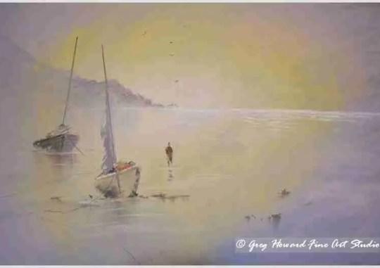 Evening Tide II